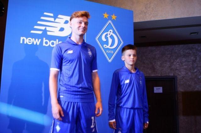 Киевское «Динамо» представило новую форму от известного бренда ... 93df1b6faed80