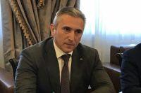 В Тюмени модернизацию очистных сооружений оценил Александр Моор