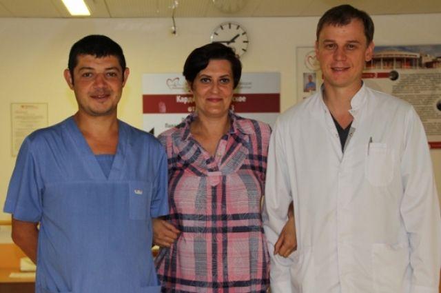 Красноярские кардиохирурги подарили молодой женщине вторую жизнь