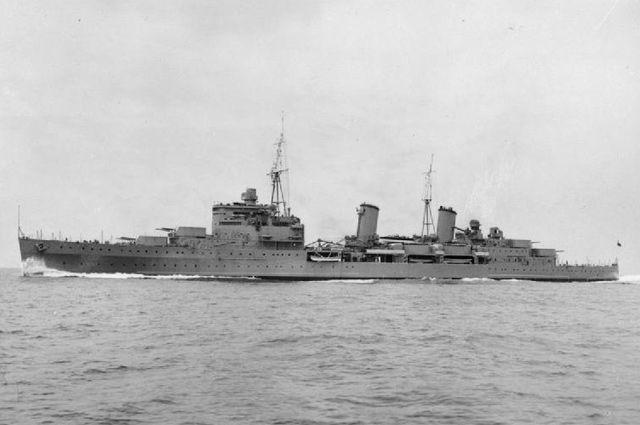 Крейсер «Эдинбург».
