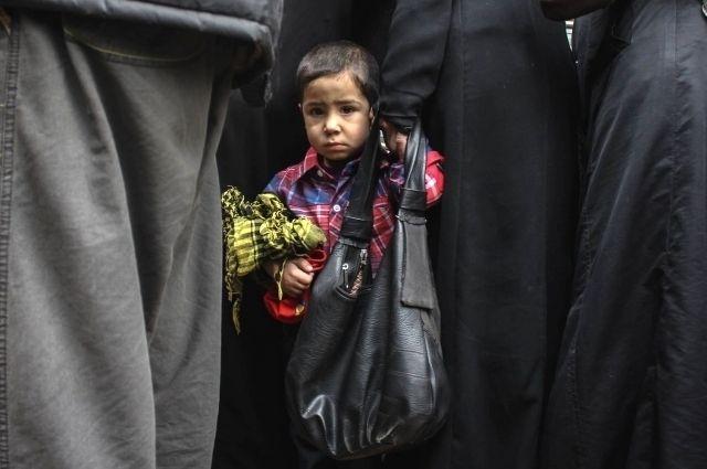 В школы боевиков брали детей с трёх лет.