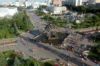 Александр Моор положительно оценил работу по обустройству города