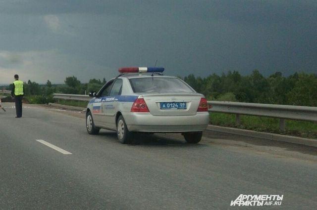 Инцидент произошёл с автобусом «Пермь-Усть-Чёрная», который направлялся в краевую столицу.