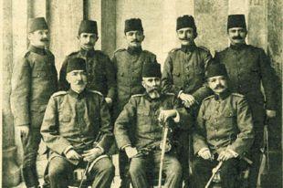 Младотурецкие офицеры.