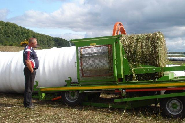 Аграрии Кузбасса выполнили 50% плана по заготовке сена.