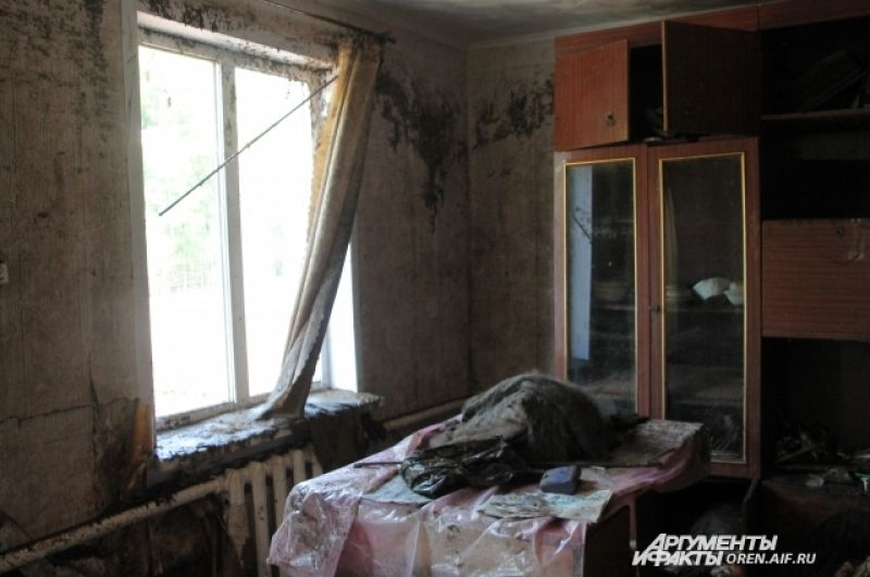 Дом, в котором погибла Ираида Дмитриевна Попова.