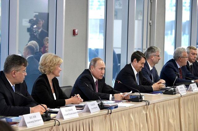 Путин подвел итоги чемпионата мира по футболу в России