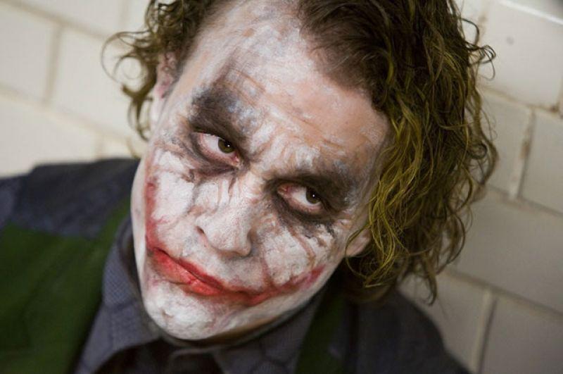 4-е место. Джокер (Хит Леджер, «Темный рыцарь», 2008 г.)