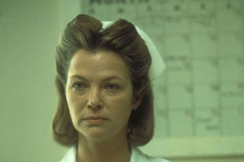 5-е место. Медсестра Милдред Рэтчед (Луиза Флетчер, «Пролетая над гнездом кукушки», 1975 г.)