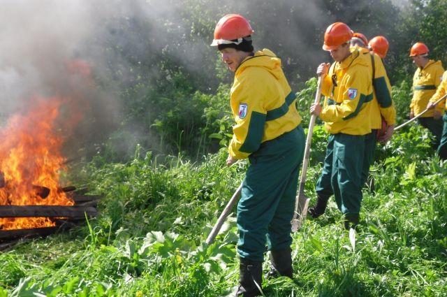Только в Лесосибирске работает 26 добровольных пожарных подразделений.