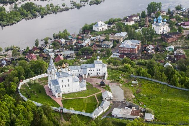 Путин поздравил жителей Гороховца в 850-летием города