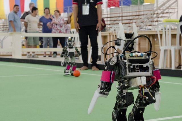 Тюменские кванторианцы представят на международный конкурс робота-матрешку