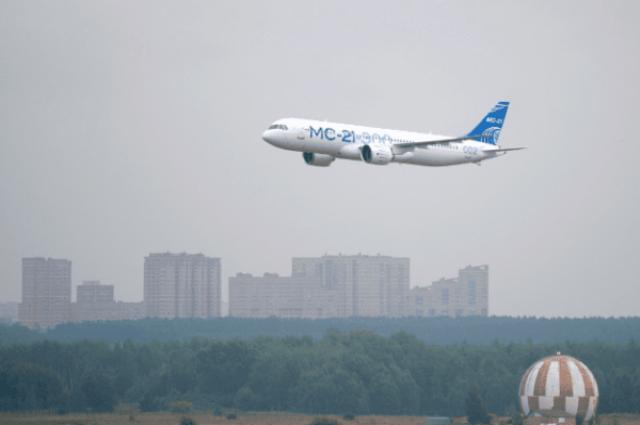 2-ой опытный МС-21 прибыл изИркутска вЖуковский для продолжения испытаний