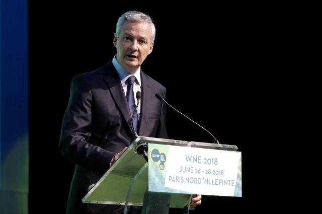 Министр экономики Франции заявил о начале торговой войны США и Европы