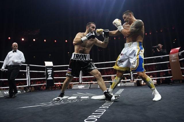Усик победил Гассиева в финале Всемирной боксерской суперсерии