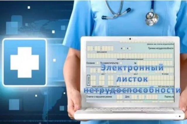 В Тюменской области выписали шесть тысяч электронных больничных