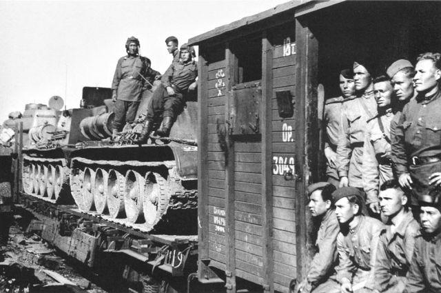 В войну составы помогали и военным, и тыловикам.