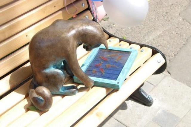 В Одессе украли кошку Пушинку с планшетом