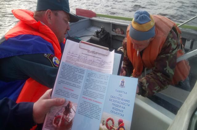 Второй рейд патрулирования водных объектов стартовал на Ямале