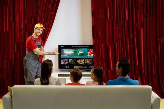 «Дом.ru» запустил первое приложение для SmartTV.