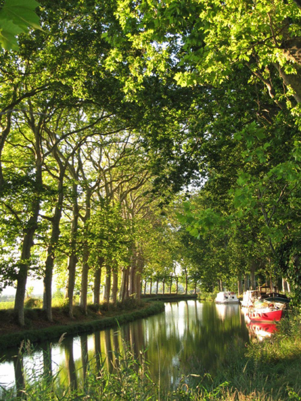 Южный канал (Лангедокский канал, Канал дю Миди). Из всех судоходных каналов в Европе этот — самый старый. В XVII—XVIII веках он использовался для перевозки грузов и почтовой корреспонденции. В XIX веке в связи с развитием железнодорожного сообщения стал использоваться в основном для торговой коммерции. В настоящее время по нему ходят только прогулочные катера с туристами и малотоннажные частные суда.