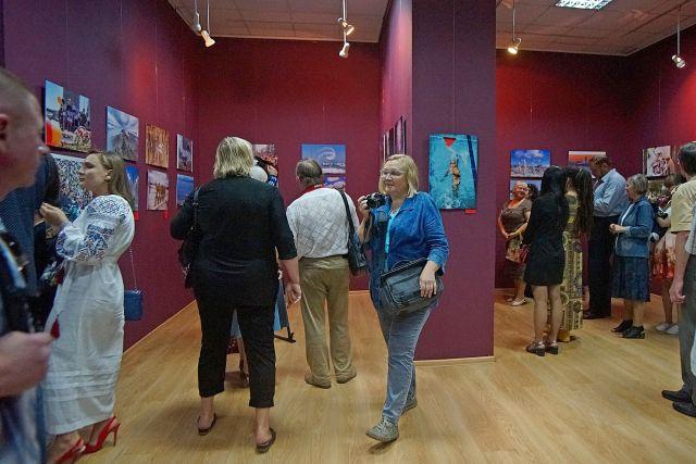Выставки к морскому салону вызвали большой интерес публики.
