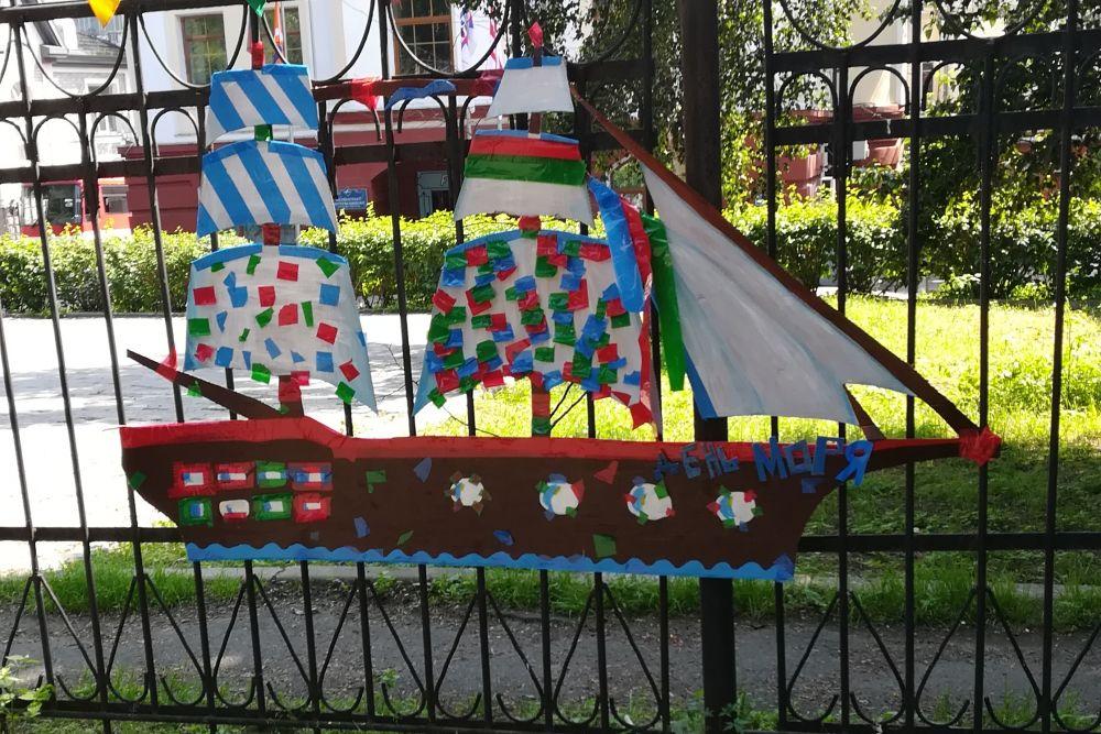 На этом кораблике - к новому фестивалю.
