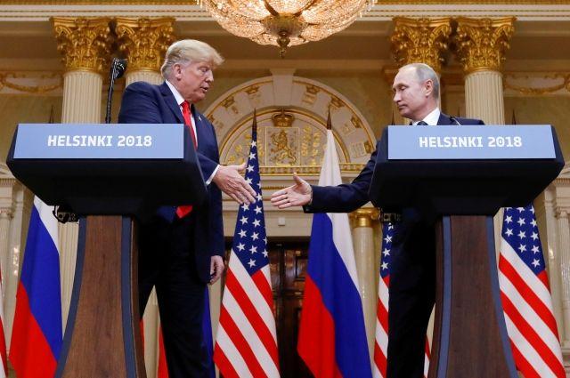 Госдеп США: 2-ая встреча В. Путина иТрампа пока несогласована