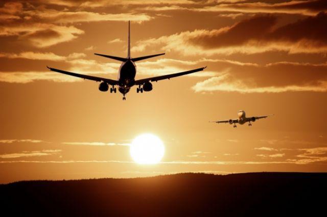 Самолет направлялся в аэропорт Томска
