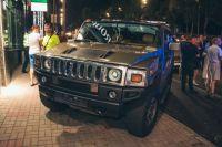 Hummer виновника смертельной аварии на Леси Украинки в Киеве