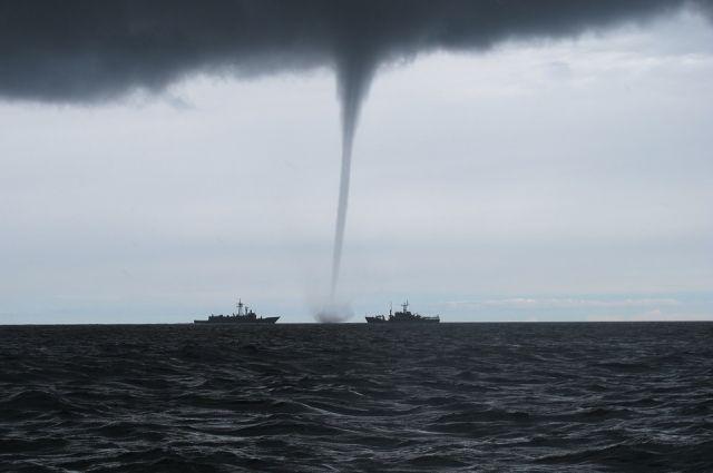 НаЧерном море ожидаются смерчи— МЧС