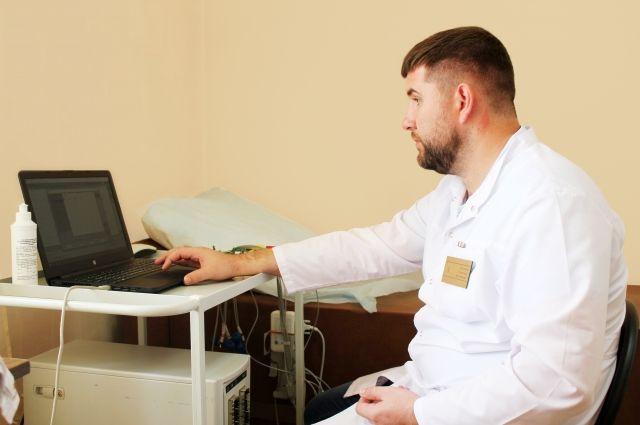 Ежемесячно врачи отделения функциональной диагностики обрабатывают 3 тыс. 500 электрокардиограмм.