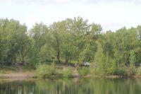 Остров расположен на реке Обь