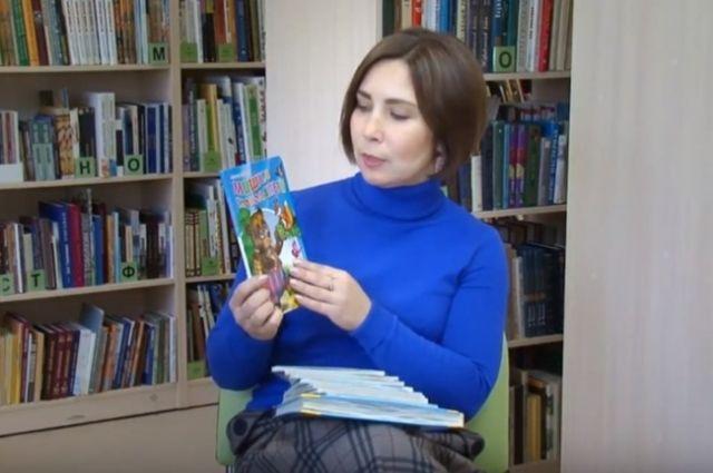 Гостем проекта «Читаем вместе» стала руководитель центра развития