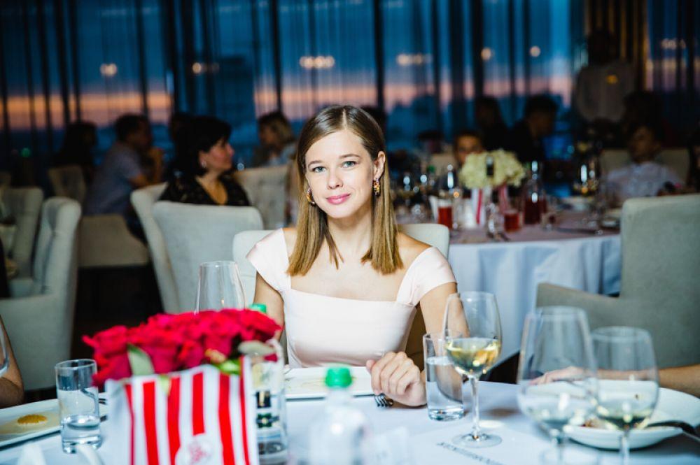 Актриса Екатерина Шпица.