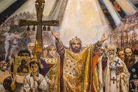 «Крещение Руси» - фреска В. Васнецова во Владимирском соборе в Киеве, созданная в 1895-1896 гг.