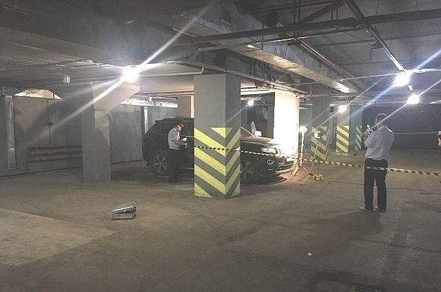 На Юрия Яшина напали в подземном гараже.