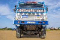«КамАЗ-4911 Extreme» прозвали «летучим» за то, что он с легкостью отрывается от земли.