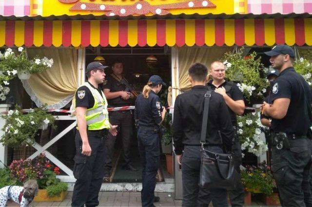 В центре Киева в ресторане из-за конфликта двух компаний произошла стрельба