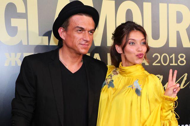 Певец Влад Топалов и актриса и телеведущая Регина Тодоренко.