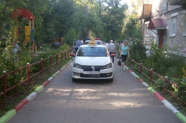 Авария произошла около дома по улице Аркадия Гайдара.