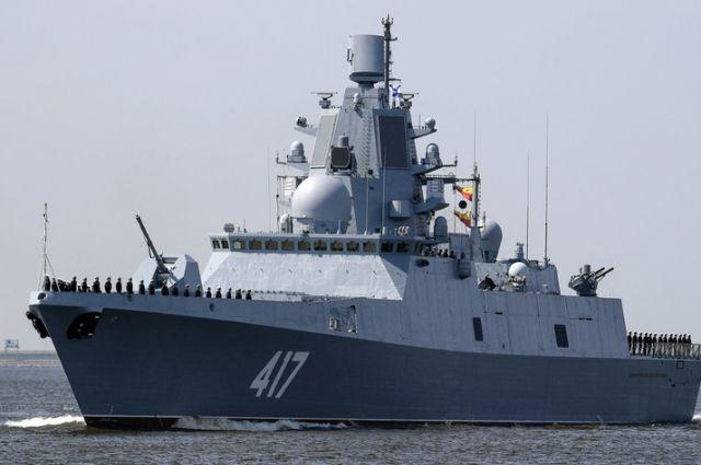ВПетербурге подписали приемный акт госиспытаний фрегата «Адмирал Горшков»