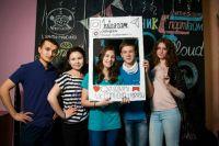 Худжахон Фазлиддинов с друзьями из вуза