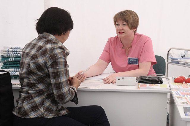 Шатры здоровья. Московские врачи проводят консультации в парках