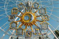 Музыкальные часы на тюменском Цветном бульваре – самые большие в России