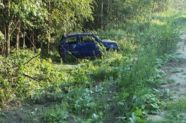 По одной из версий женщина отвлеклась на ребёнка и потеряла управление автомобилем.