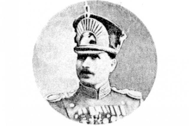 М.А. Муравьёв в форме капитана Русской императорской армии, 916 год.
