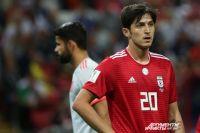 Сердар Азмун забил два гола для