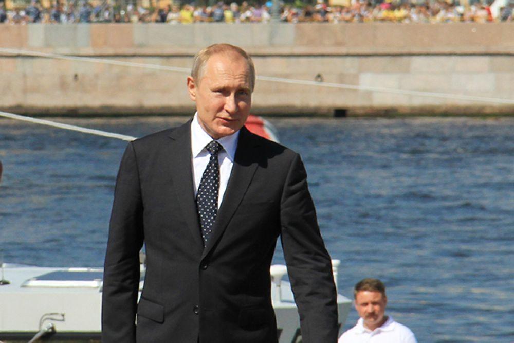 Глава государства  заявил, что обеспечение потребностей Военно-морского флота России должно быть одним из двигателей технологического прорыва.