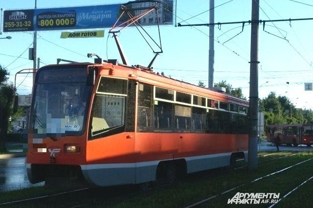 Движение трамваев восстановлено.